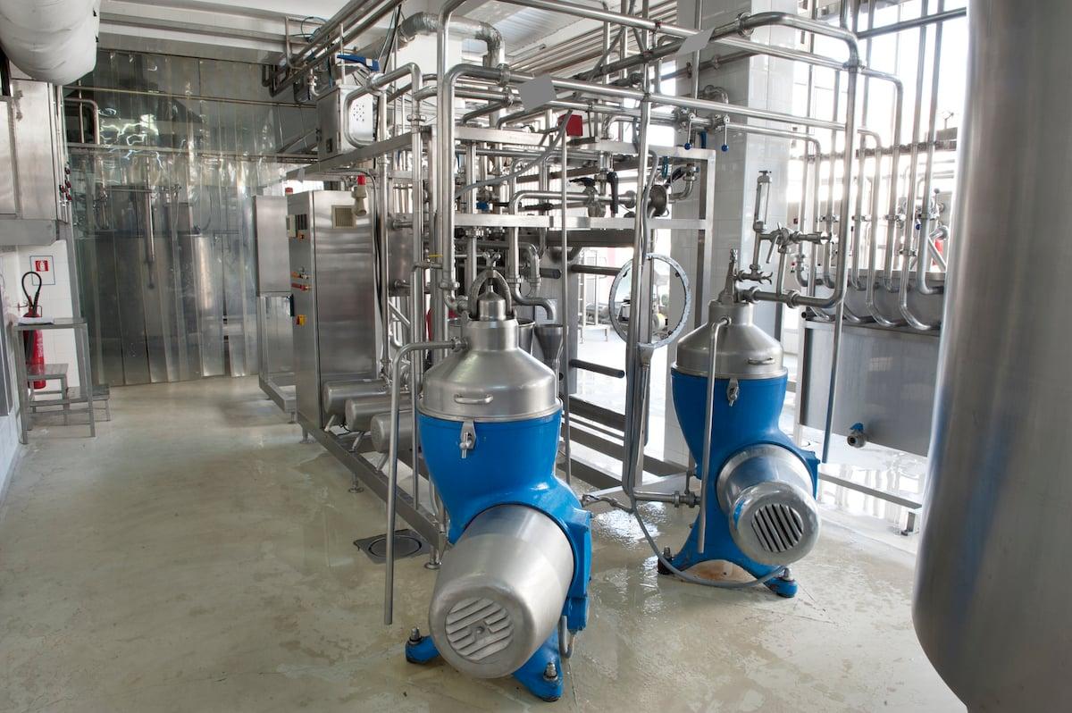 dairy facility centrifuge