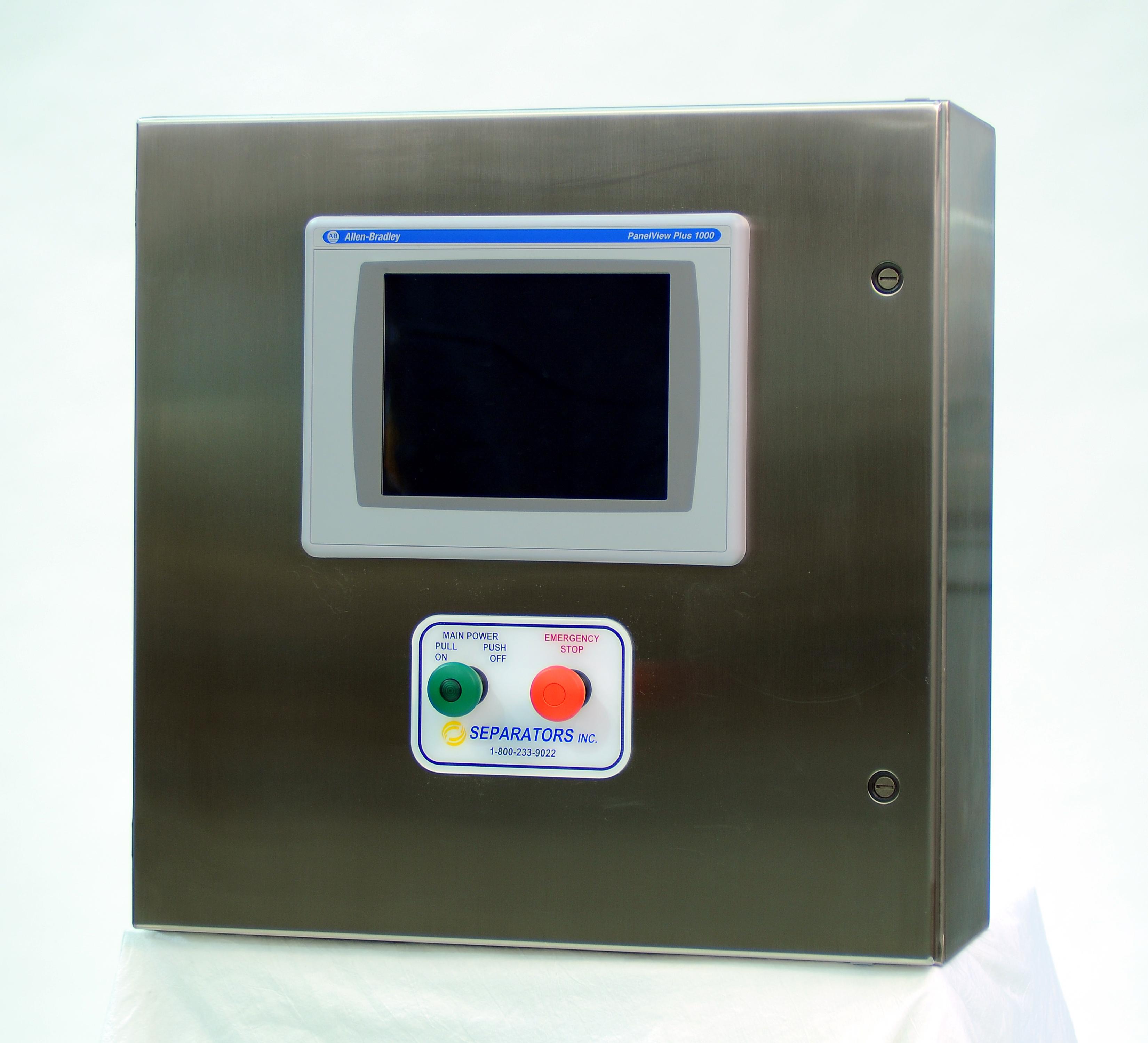C3205 Series Control Panel