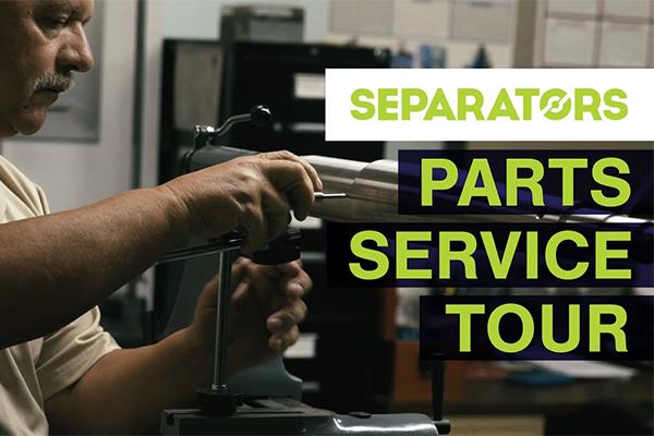 Parts Service Tour