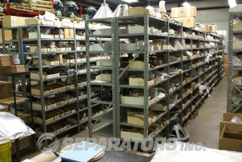 Over 4,000 parts in stock